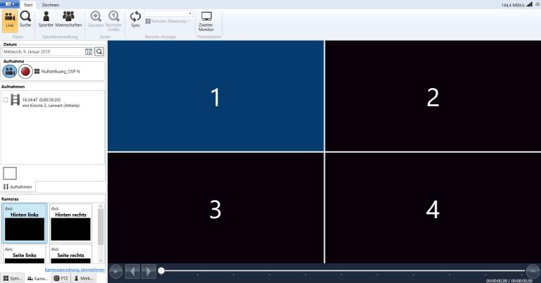 Multikamerasystem Fussball Screenshot