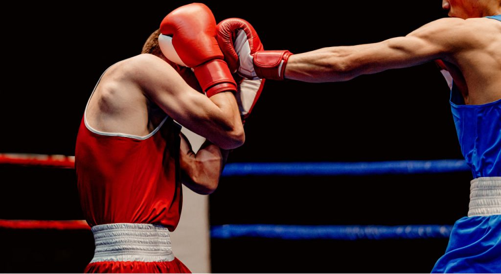 Videoanalyse_Kampfsport_Boxen_Boxring_Gegner