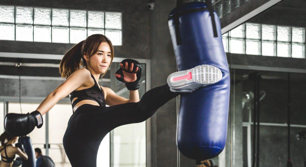 Videoanalyse_Kampfsport_Kickboxen_Boxsack