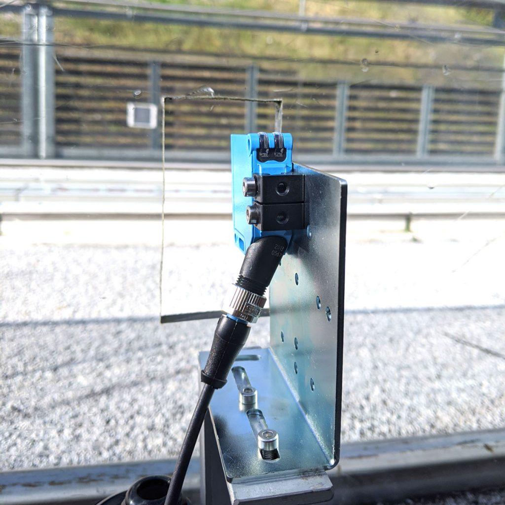 Wasserdichte Lichtschranken_Kamerasystem mit Lichtschranken im Skispringen