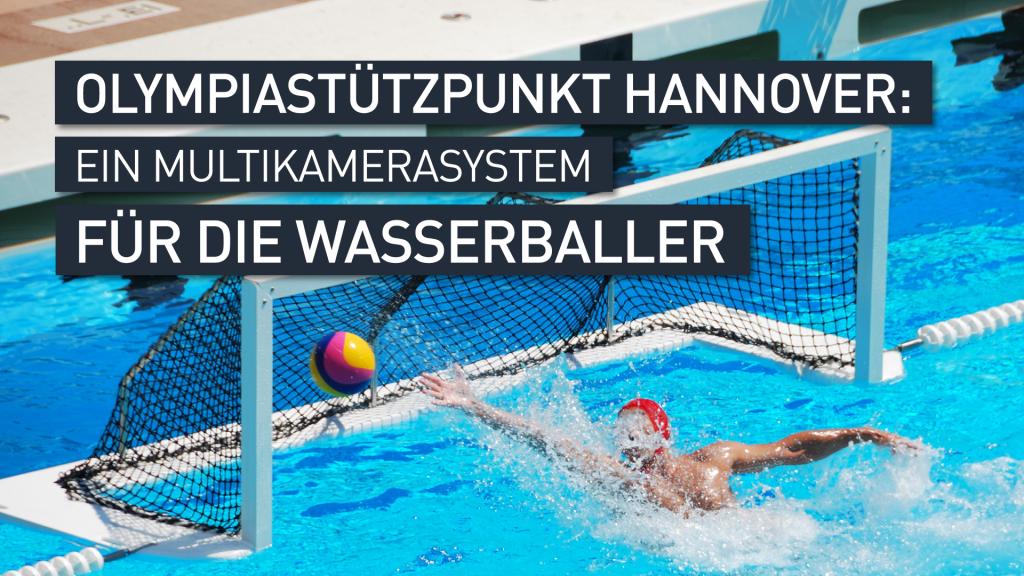 Wasserball-Mehrkamerasystem-Videoanalyse